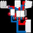 Насосная группас функциейпаралельного контроля ESBE GBA111 DN 25 (61060100) цена