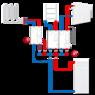 Насосная группас функциейпаралельного контроля ESBE GBA111 DN 25 (61060100)