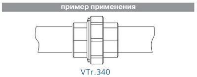 VTr.340.N.0005 Сгон НІКЕЛЬ 3/4 R ВВ прямой Valtec цена