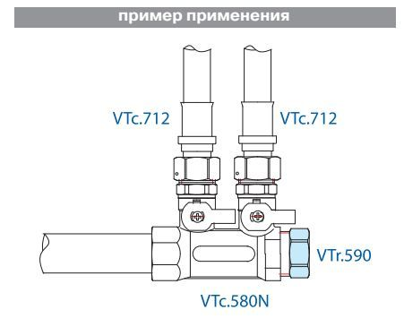 VTr.590.N.0008 Заглушка 1 1/2 R НИКЕЛЬ Valtec