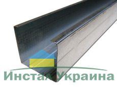 Профиль CW75, проф. несущий для перегородок 0.55мм/3м