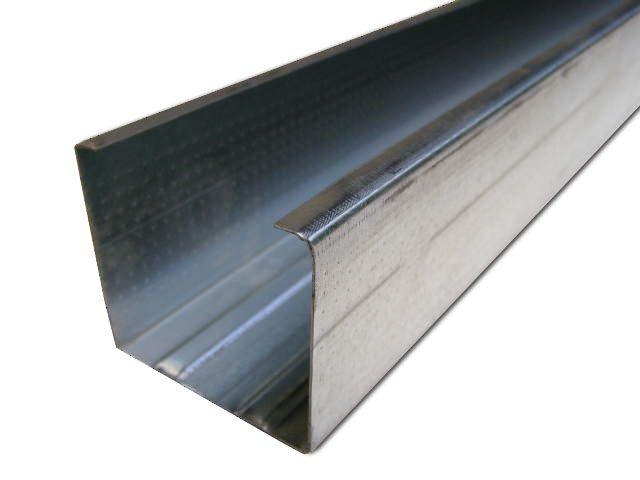 Профиль UW50, проф. направляющий для перегородок 0.55мм/3м