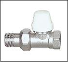 купить Кран термостатический прямой 1/2 с накидной гайкой ECO Tehnology 8001