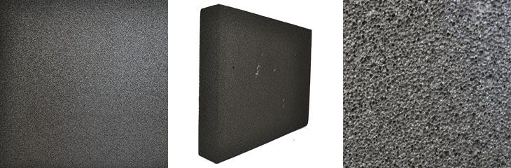 Пеностекло в плитах (паропроницаемое ) -250 мм х 120 мм х 88 мм