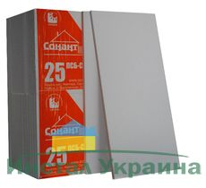 Пенопласт Сонант ПСБС -25 (ДСТУ) 1000х500х100мм