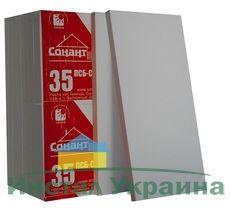 Пенопласт Сонант ПСБС -35 (20-22 кг/м3) 1000х500х30мм