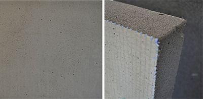Пеностекло обработанное в плитах оштукатуренное 650 мм х 450 мм цена