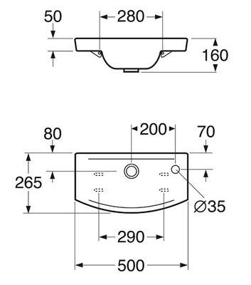 Раковина Gustavsberg LOGIC 51979L01 цена