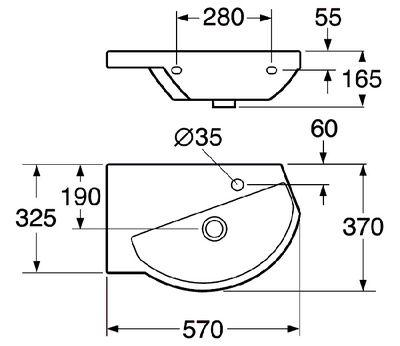 Раковина Gustavsberg LOGIC 51989901 цена