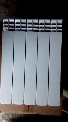 Радиатор алюминиевый 5 секц. Radiatori 2000 500/100 (образец 2015 г)