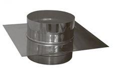 Разгрузочная платформа 0,5мм из нержавеющей стали (AISI 304) с термоизоляцией в нержавеющем кожухе (AISI 304) ф125/185