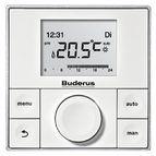 купить Пульт управления настенным котлом Buderus Logamatic RC200 / EMS Plus