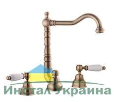 Смеситель для умывальника Emmevi DECO ceramica BR121643