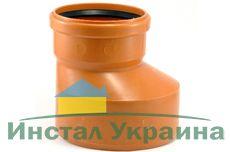 Мпласт Редукция DN 200/110 для наружной канализации