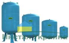 Гидроаккумулятор вертикальный Reflex Refix DE 7290100 8L DE (синий) 25 бар (мембрана не сменная)