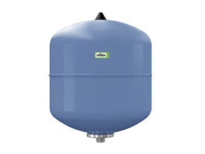Гидроаккумулятор вертикальный Reflex Refix DE 7302000 12L DE (синий) 10 бар (мембрана не сменная) цена