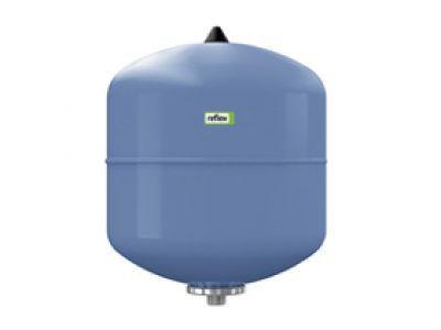 Гидроаккумулятор вертикальный Reflex Refix DE 7301000 8L DE (синий) 10 бар (мембрана не сменная)