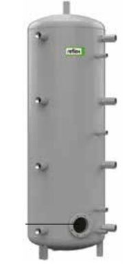 Теплоаккумулирующая емкость без изоляции Reflex H/R 7788500 4000L/R H (серый) цена