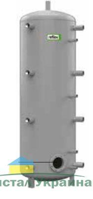 Теплоаккумулирующая емкость без изоляции Reflex H/R 7784205 1000L/R H (серый)
