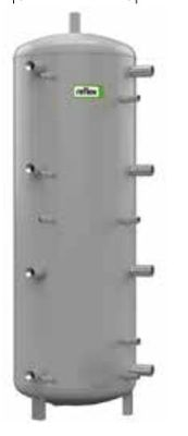 Теплоаккумулирующая емкость без изоляции Reflex H/17784700 2000L/1 H (серый) цена