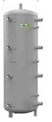 Теплоаккумулирующая емкость без изоляции Reflex H/17784315 1000L/1 H (серый)