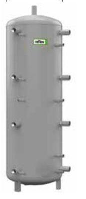 Теплоаккумулирующая емкость без изоляции Reflex H/17783700 300L/1 H (серый) цена