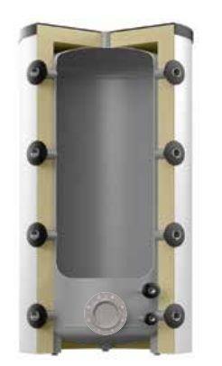 Теплоаккумулирующая емкость Reflex HF/R 8502100 1000L/R HF (серебряный)