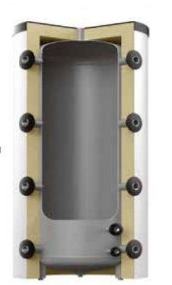 Теплоаккумулирующая емкость Reflex HF 8502060 2000L HF(серебряный)