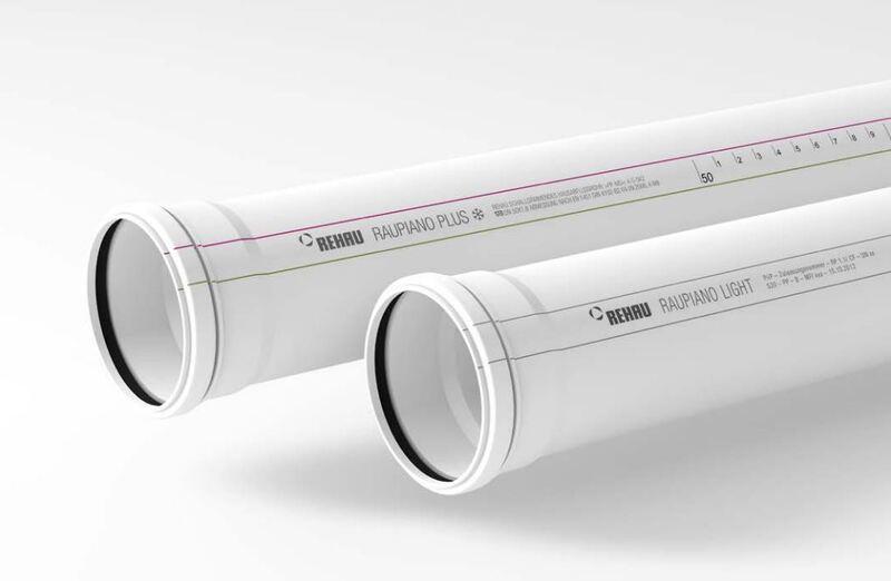 Труба канализационная Rehau RAUPIANO Plus DN 90 / 1500 мм