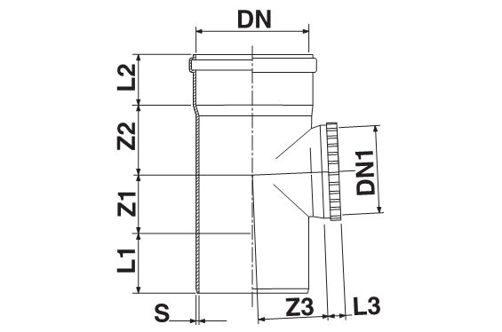 Мпласт Ревизия DN 160 для наружной канализации