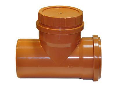 Мпласт Ревизионная заглушка DN 160 для наружной канализации цены