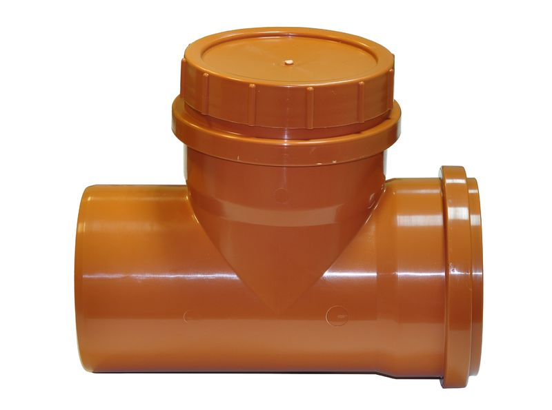 Мпласт Ревизионная заглушка DN 160 для наружной канализации