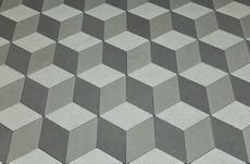 Тротуарная плитка Ромб 150х150 (серый) (6 см)