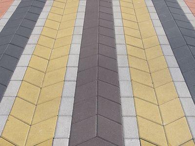 Тротуарная плитка Ромб 150х150 (желтый) (6 см) цены