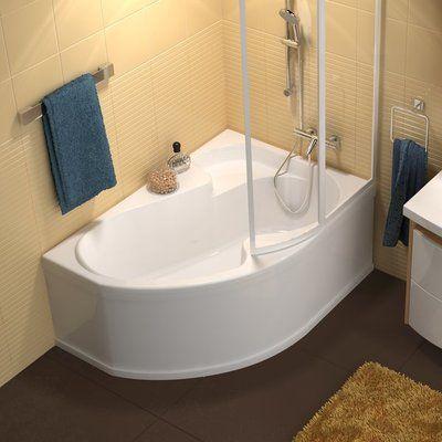 Акриловая ванна Ravak Rosa I 140 x 105 R правосторонняя цена
