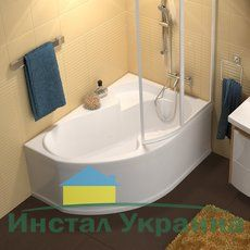 Акриловая ванна Ravak Rosa I 150 x 105 L левосторонняя