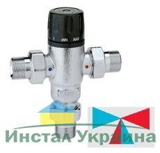 Caleffi смеситель-термостат 1/2` (30-65° С) (521400)