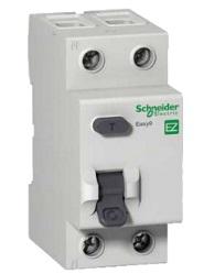 Schneider electric Дифференциальный выключатель напряжения EZ9,ЗАХ.ПО НАПР. 40А/2Р300мА/А (EZ9R84240) цена