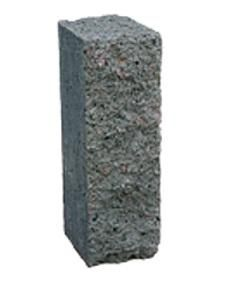 Столбик декоративный 250х100х80 (серый) цены