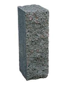 Столбик декоративный 250х100х60 (серый)