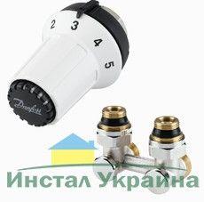 Danfoss Н-образный запорный клапан RLV-KS 3/4x3/4 прямой