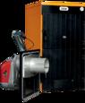 Пеллетный котел Ferroli SFL / 6 + горелка SUN P12 + бункер 195 л + дверца для перехода на (дрова/уголь) цена
