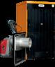 Твердотопливный пеллетный котел Ferroli SFL / 5 + горелка SUN P12 + бункер 195 л + дверца для перехода на (дрова/уголь)