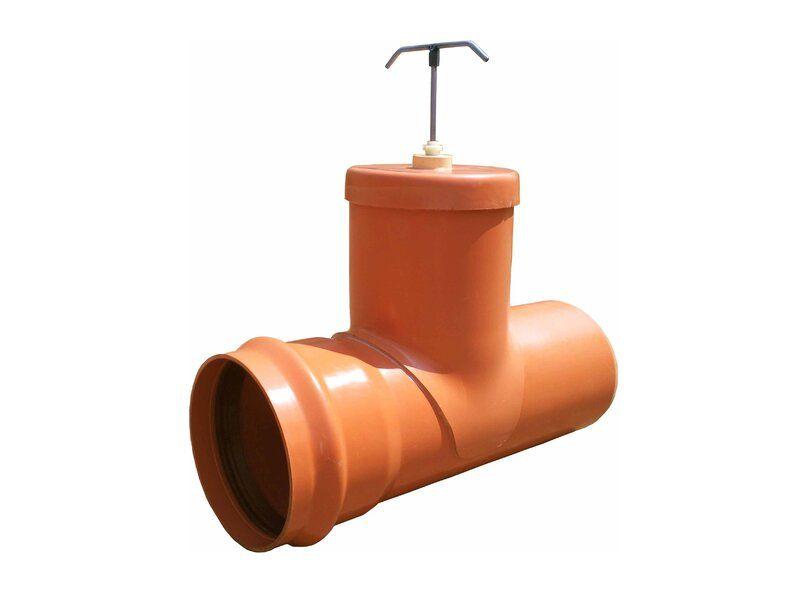 Мпласт Шиберная задвижка DN 110 для наружной канализации