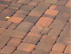 Тротуарная плитка Старый город (сиена) для пешеходной зоны (4 см)
