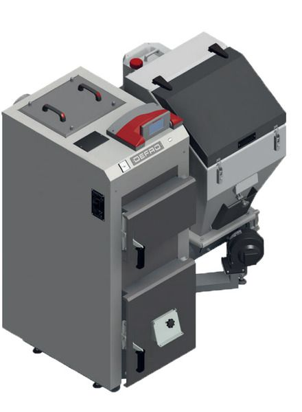 Твердотопливный пеллетный котел Defro SIGMA UNI 16 кВт
