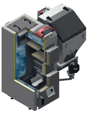 Твердотопливный пеллетный котел Defro SIGMA UNI 16 кВт цены