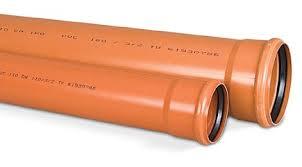 Мпласт Труба пвх для наружной канализации D= 200 Длина, мм =1000 цены