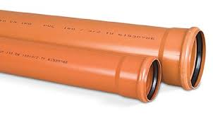 Мпласт Труба пвх для наружной канализации D= 200 Длина, мм =1000