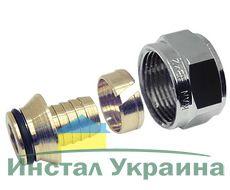 """KAN Соединитель конусный (с никелированной гайкой) 16x2 G3/4"""" 9006.57"""